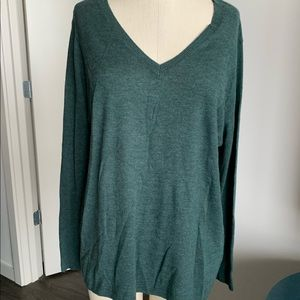 Trouve green sweater